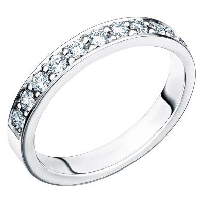 Vigselring 237-34.11 med 11 diamanter.
