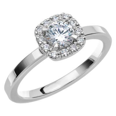 Vigselring Love 04 med 13 diamanter.